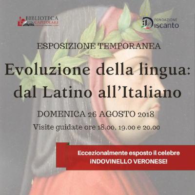 Evoluzione della lingua: dal Latino all'Italiano