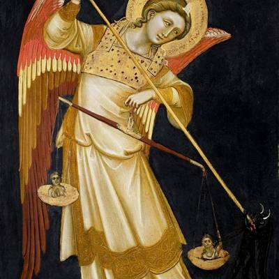 L'angelo, iconografia e storia