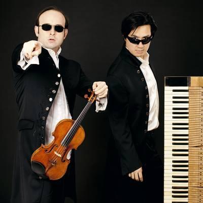 L'esilarante duo Igudesman & Joocon e i Virtuosi Italiani