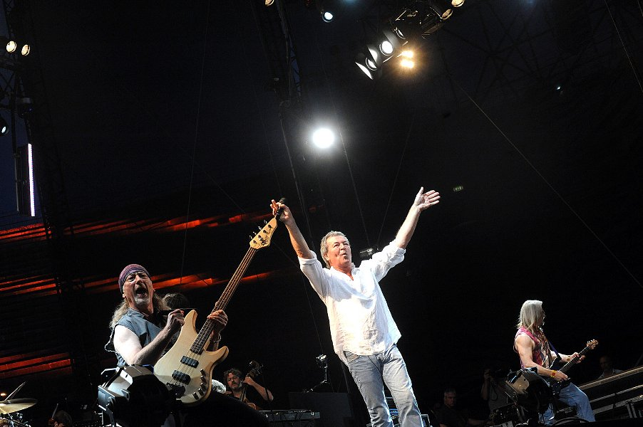 I Deep Purple in concerto Arena 2011