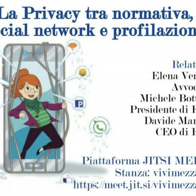 La Privacy tra normativa, Social e profilazione